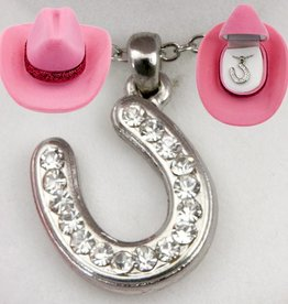 AWST Necklace - Crystal Horseshoe