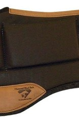 "Diamond Wool Endurance-Round Contoured Relief Pad -  Black 33""x30""x1"""