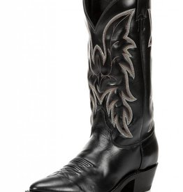 Justin Western Men's Justin Black Classic Driscoll Cowhide Boot