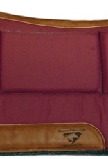 "Diamond Wool Contoured Relief Pad - 32""x 32""x 1/2"" Square"