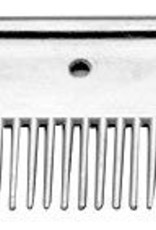 "4"" Long Aluminum Mane Comb Aluminum"