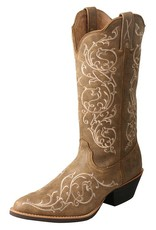 """Twisted X Women's Twisted X Western 12"""" Boot - Bomber Distressed"""
