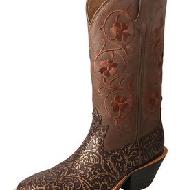 Twisted X, Inc Women's Twisted X Ruff Stock Boot – Tan/Tooled