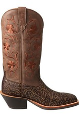 Twisted X Women's Twisted X Ruff Stock Boot – Tan/Tooled