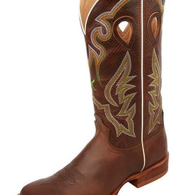 Twisted X Men's Twisted X Ruff Stock Boot – Chocolate/Chocolate