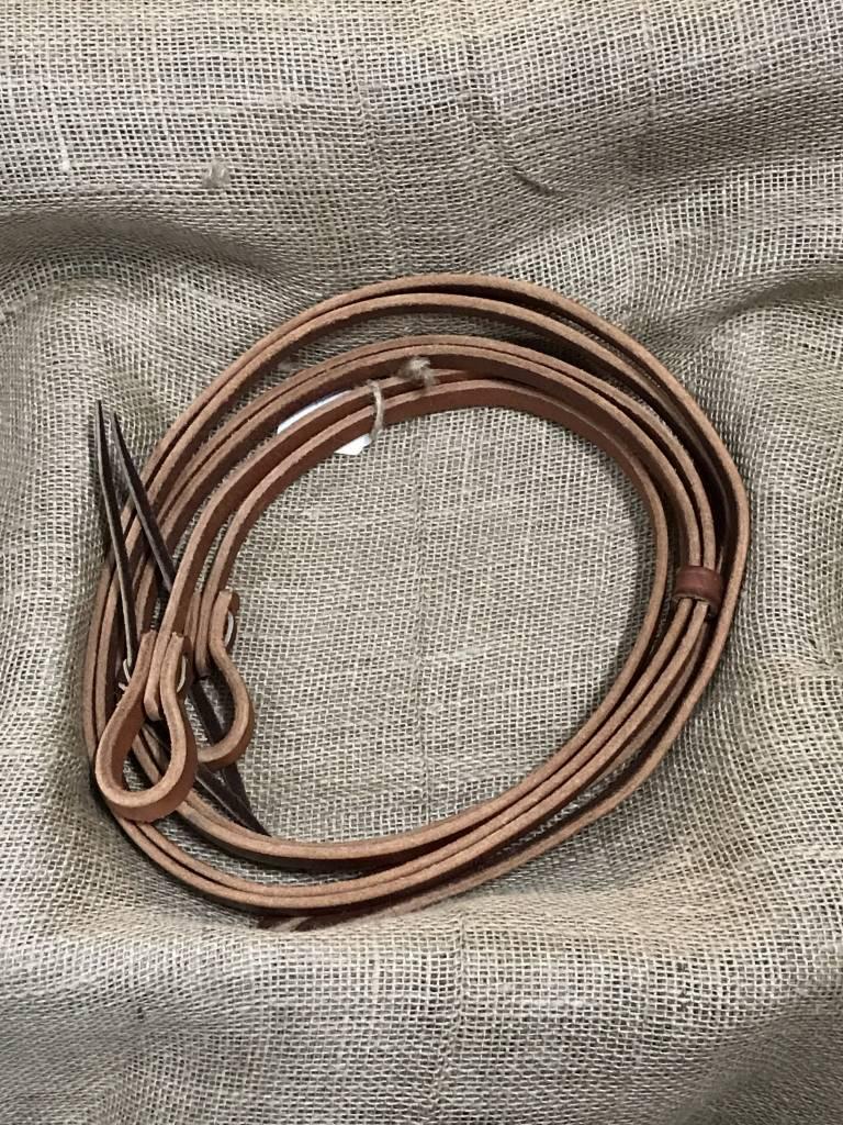 Circle L Circle L Split Leather Tie End Reins, U.S.A. Made