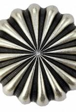 Circle Y Silver Parachute Conchos Rustic 1