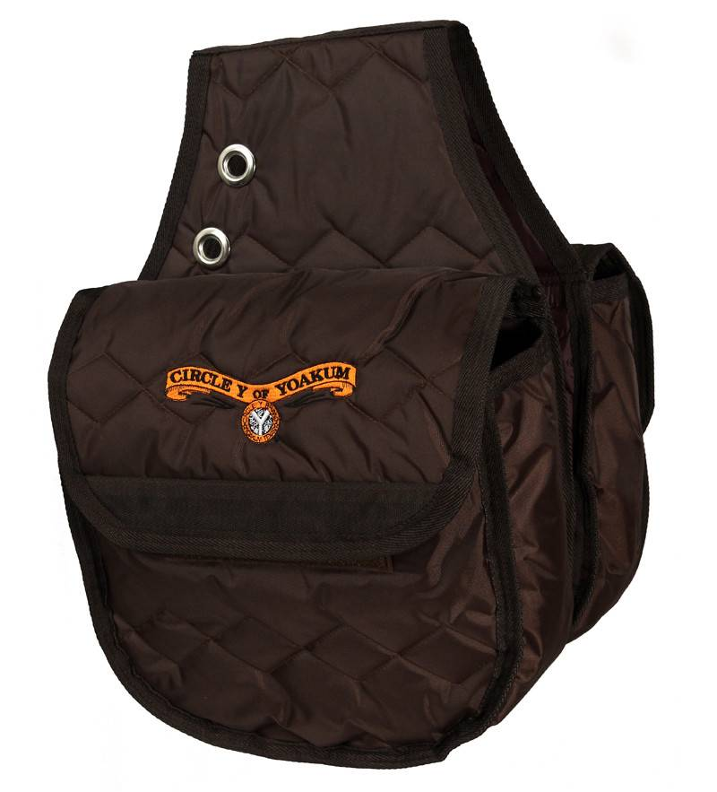 Circle Y Circle Y Saddle Bag-Insulated Brown Large