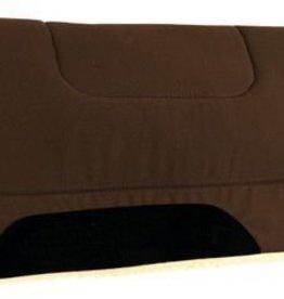 """Reinsman Reinsman Ranch Cutter Fleece Pad Black - 32""""x32""""x1"""""""