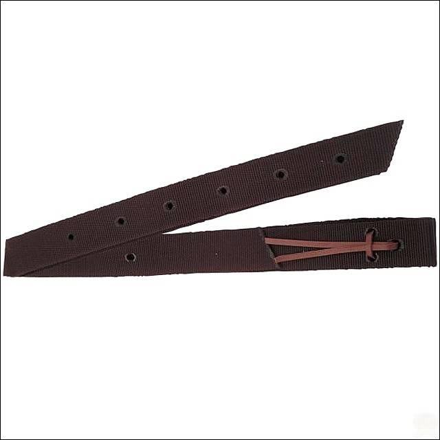 "Circle Y Circle Y Nylon Tie Stap Brown - 1-3/4""x70"""