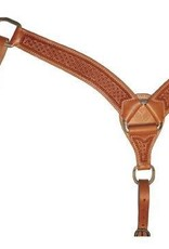 Circle Y Circle Y Roper Breast Collar, Light Oil - Full Size
