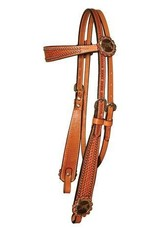 Circle Y Circle Y Iron Pistols-Headstall  5/8