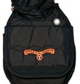 Circle Y Circle Y Cantle Bag Black
