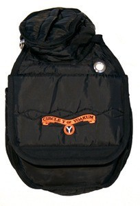 Circle Y Circle Y Cantle Bag Black