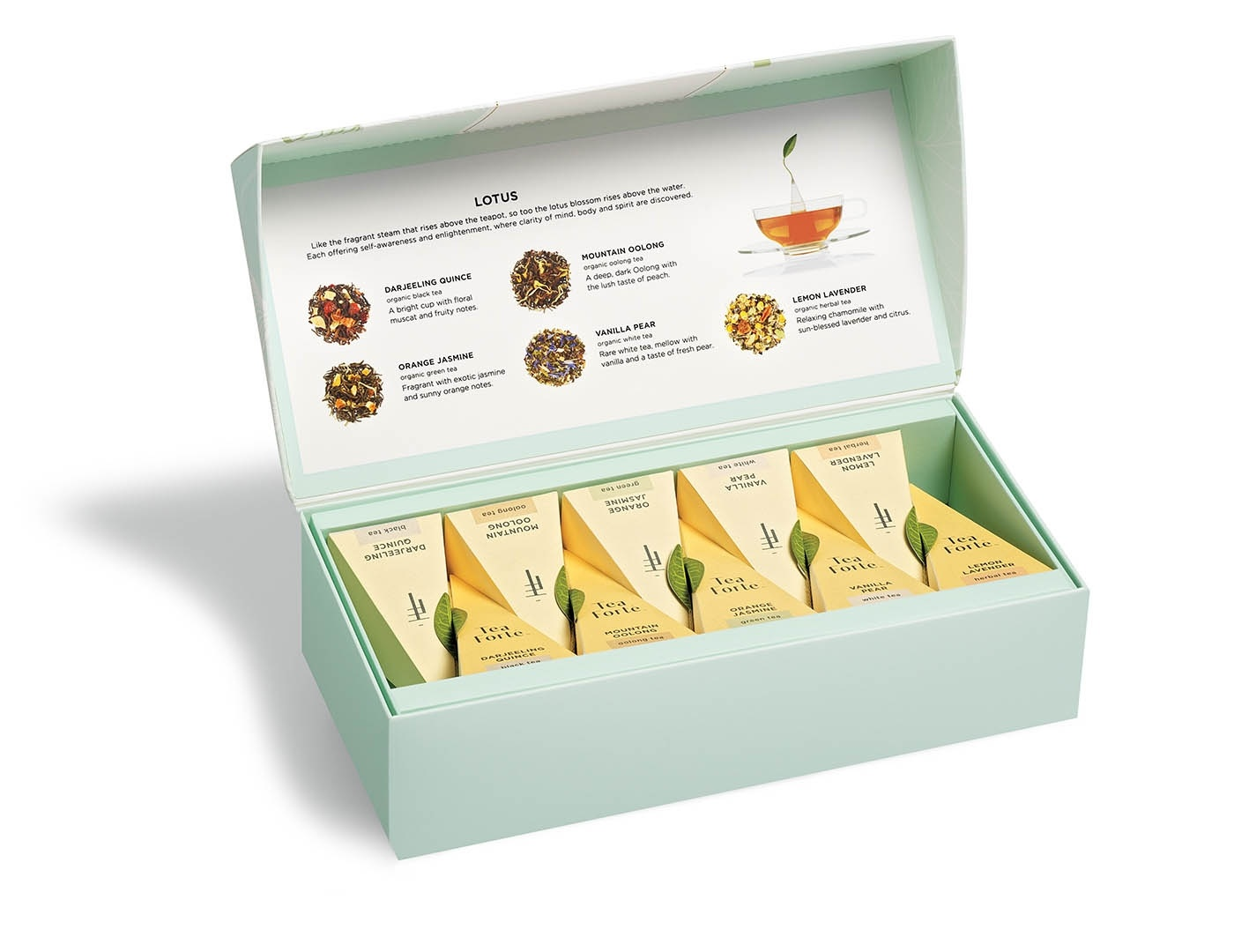 Tea forte Lotus Petite Presentation Box