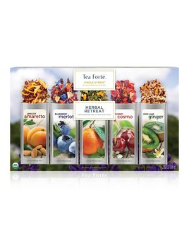 Tea forte Herbal Retreat Single Steeps