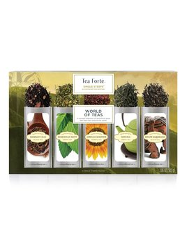 Tea forte Single Steeps World of Teas