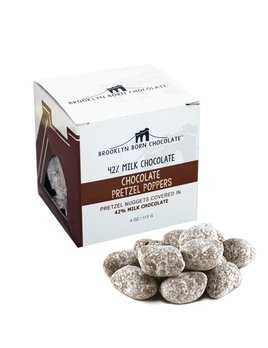 Brooklyn Born Chocolate Chocolate Pretzel Poppers Cube