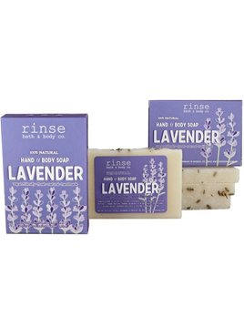 Rinse Bath Body Inc Mini Soap - Lavender