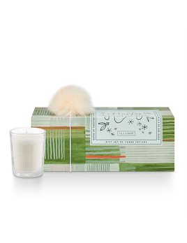 Illume Winter Mint Very Merry Votive Set