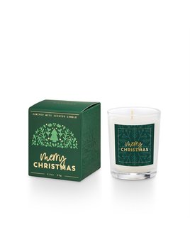 Illume Good Cheer Boxed Votive - Merry Christmas