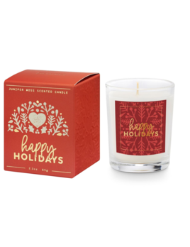 Illume Good Cheer Boxed Votive - Happy Holidays
