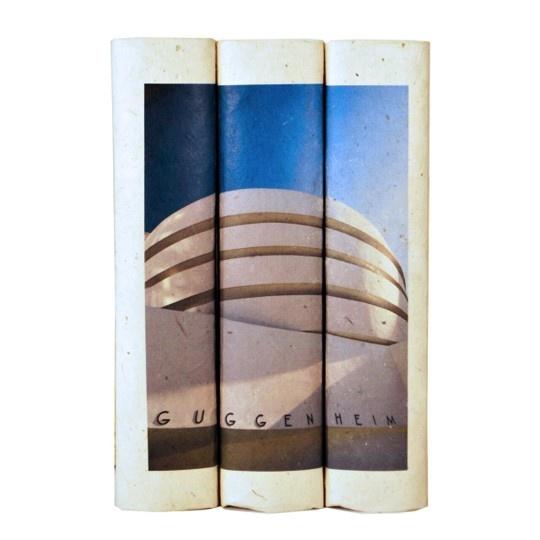 E Lawrence LTD Guggenheim Building - Black Cover