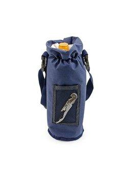 True Grab & Go: Insulated Bottle Carrier Blue