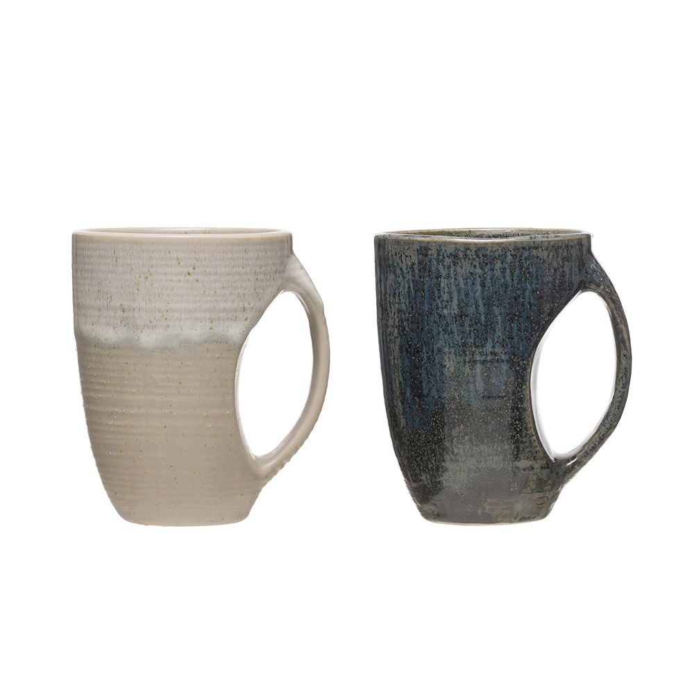 Creative Co-op Stoneware Reactive Glaze Mug