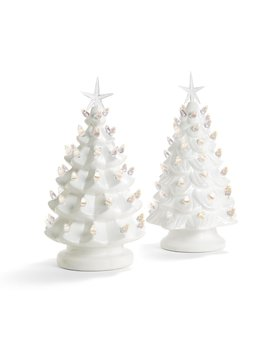 Two's Company Vintage Light Up Tree