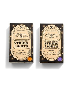 Two's Company Spooky Nights 17' String Lights