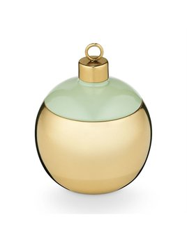 Illume Pomander Pine Metal Ornament Candle