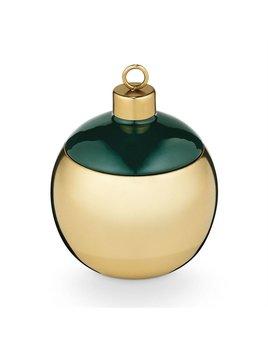 Illume Juniper Moss Metal Ornament Candle