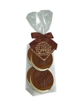 Melville Candy Double Chocolate Marshmallow Toppers - 4 Pack