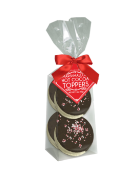 Melville Candy Dark Chocolate Peppermint Marshmallow Toppers - 4 Pack