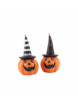 Mudpie Halloween Pumpkin Candle