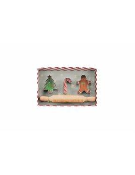 Mudpie Christmas Cookie Cutter Set