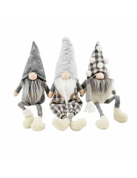Mudpie Neutral Dangle Leg Gnome