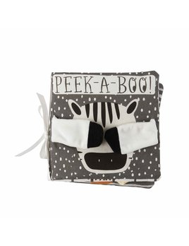 Mudpie Peekaboo Safari Plush Book