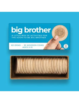 The Idea Box Kids Big Brother Activities to Prepare for New Sibling