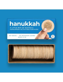 The Idea Box Kids Hanukkah Box - Hanukkah & Winter Acitivities for Kids