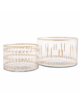 Mudpie Gold Etched Bowls