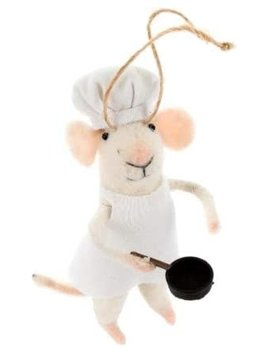 Indaba Sous Chef Mouse Ornament