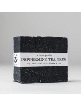 Nectar Republic Peppermint Tea Tree : Bath Soap