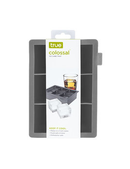 True Colossal Ice Cube Tray-Gray