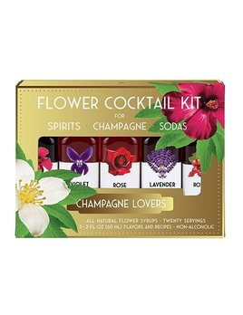 True Flower Cocktail Kit - For Champagne