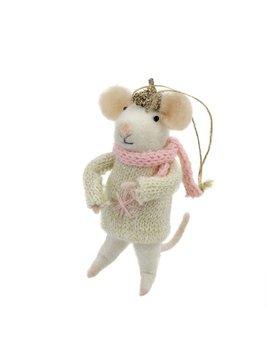 Indaba Bundled Up Betty Ornament