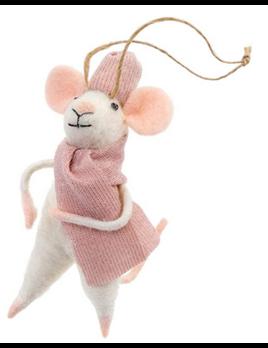Indaba Cozy Claudette Ornament