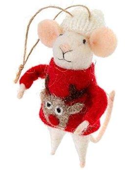 Indaba Ugly Sweater Steve Ornament