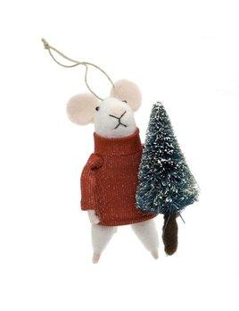 Indaba Tree Trimmer Tom Ornament